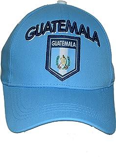 Rhinox Guatemala Gorra ajustable Grupo Nacional Fútbol Guatemala Logo de la bandera