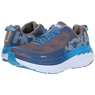 Hoka One One Bondi 5 (Charcoal Gray/True Blue) Men