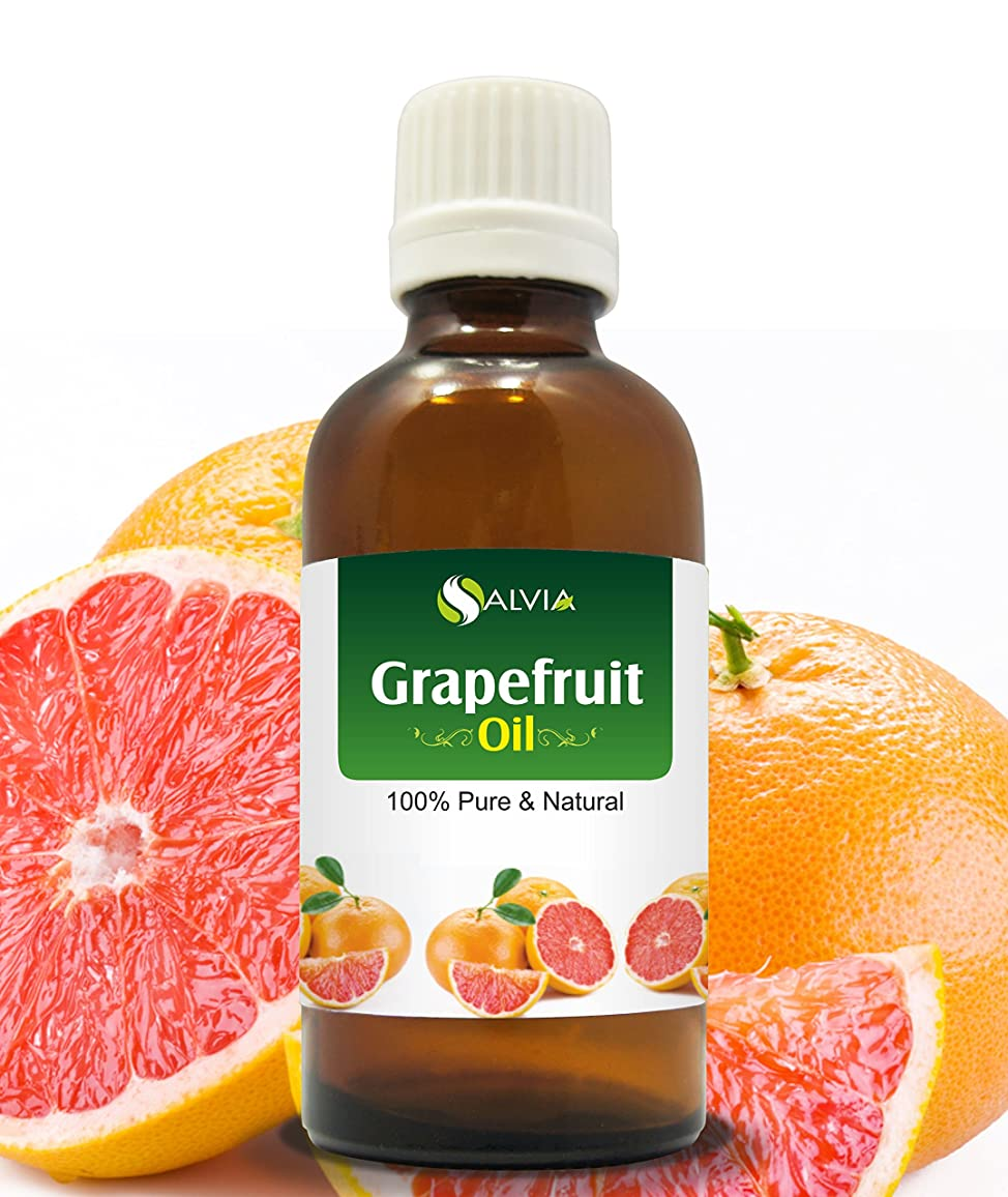 加害者薄めるタイヤGRAPEFRUIT OIL 100% NATURAL PURE UNDILUTED UNCUT ESSENTIAL OIL 100ML