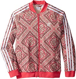 adidas Originals Kids Superstar Stained Glass Track Top (Little Kids/Big Kids)