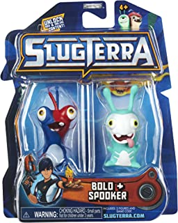 Slugterra SERIES 2 Mini Figure 2-Pack Bolo & Spooker [Includes Code for Exclusive Game Items]