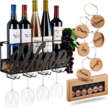 Best wall wine racks for home Reviews