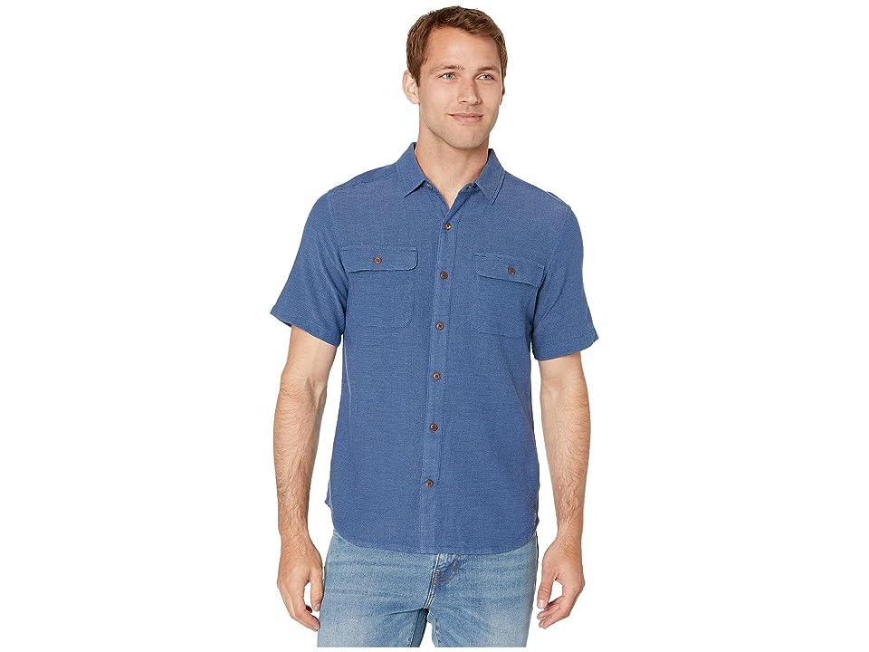 Royal Robbins Cool Mesh Eco Short Sleeve Shirt (Twilight Blue XD) Men