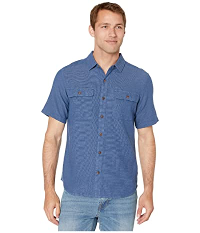 Royal Robbins Cool Mesh Eco Short Sleeve Shirt (Twilight Blue XD) Men