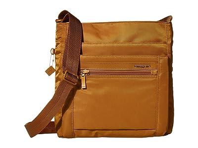 Hedgren Orva RFID Shoulder Bag (Bronze) Shoulder Handbags