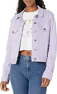 True Religion Damen Mesh Cropped Jacket Jeansjacke: Amazon
