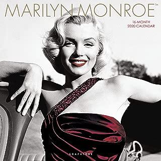 Graphique Marilyn Monroe Wall Calendar - 16-Month 2020 Calendar, 12