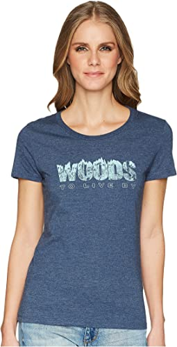 Woods To Live By Short Sleeve Tee