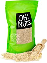 Oh! Nuts White Quinoa Bulk 3LB Seeds | Grain-Like Plant Protein Source, Cooking & Kosher Certified Pantry Items | Superfoo...