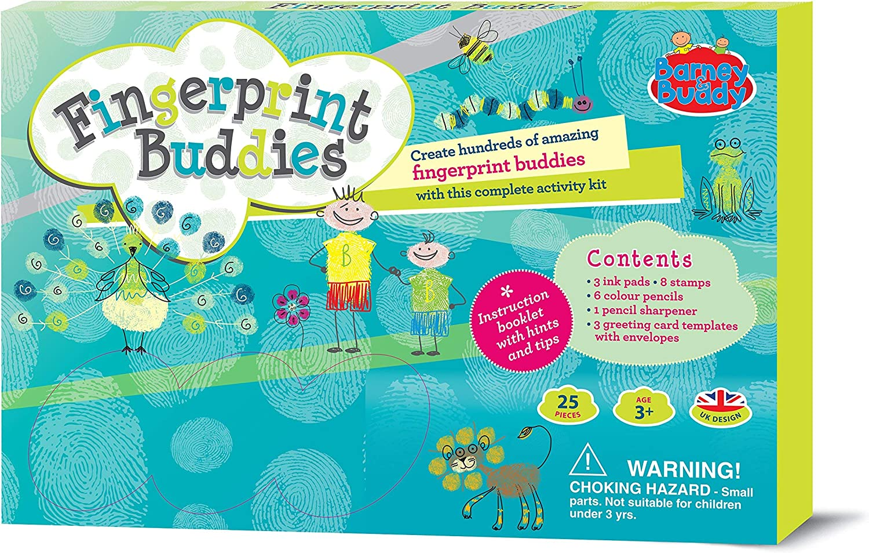 Barney Buddy BA019 Fingerprint Max 86% Max 82% OFF OFF Buddies Set Craft