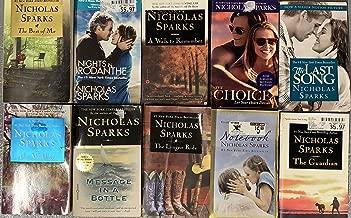 Nicholas Sparks Romance Paperback Novel Collection 10 Book Set
