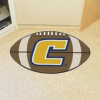 FANMATS NCAA Univ Tennessee Chattanooga Mocs Nylon Face Football Rug