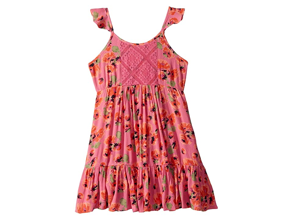 Billabong Kids Sundazer Dress (Little Kids/Big Kids) (Tahiti Pink) Girl