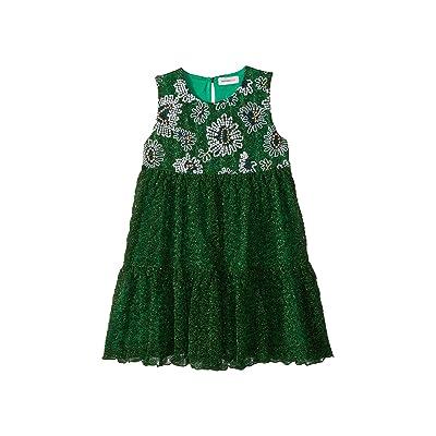 Missoni Kids Lace Lame Unito Dress (Toddler/Little Kids) (Green) Girl