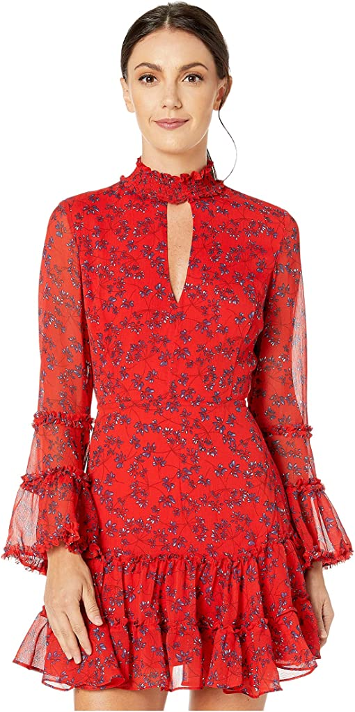 Red Ditsy Floral