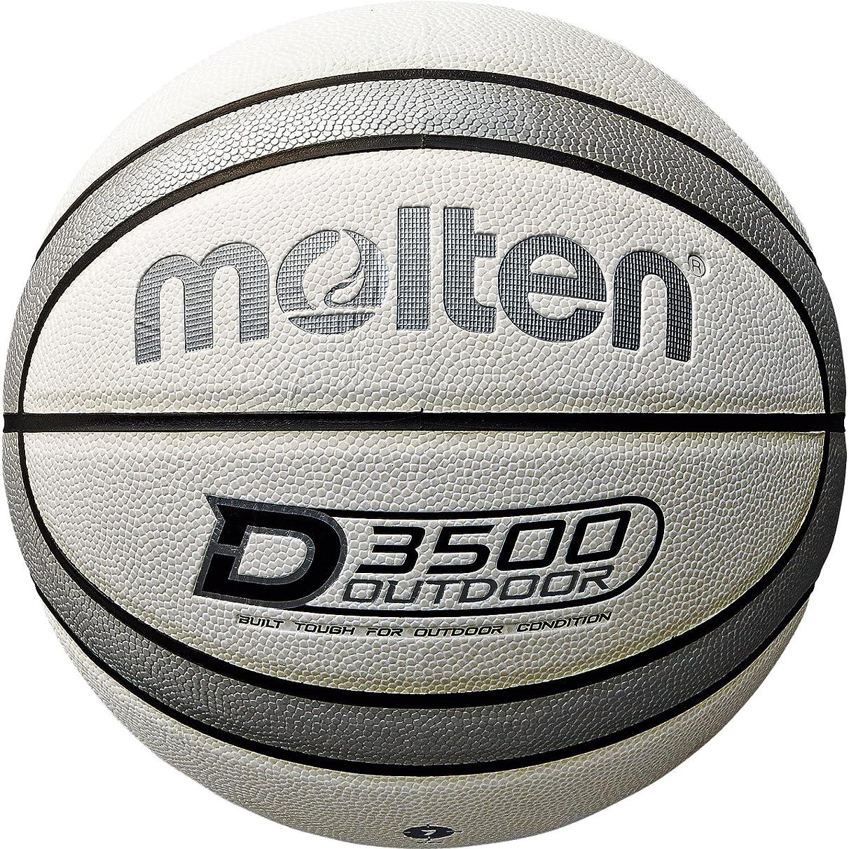 イデオロギー適度に省molten(モルテン) バスケットボール アウトドアバスケットボール B7D3500-WS