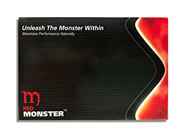 Red Monster (30 Caps) All Natural Energy & Performance