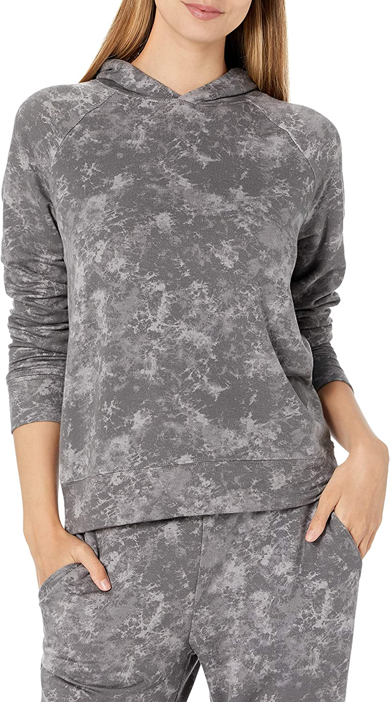 Amazon Brand - Daily Ritual Women's Tie Dye Popover Sweatshirt