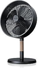 Brandson - Ventilateur sur pied design - Ventilateur avec 3 vitesses - Oscillation à 80 degrés commutable - Angle d'inclin...