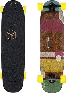 Loaded Boards Cantellated Tesseract Bamboo Longboard Skateboard Complete