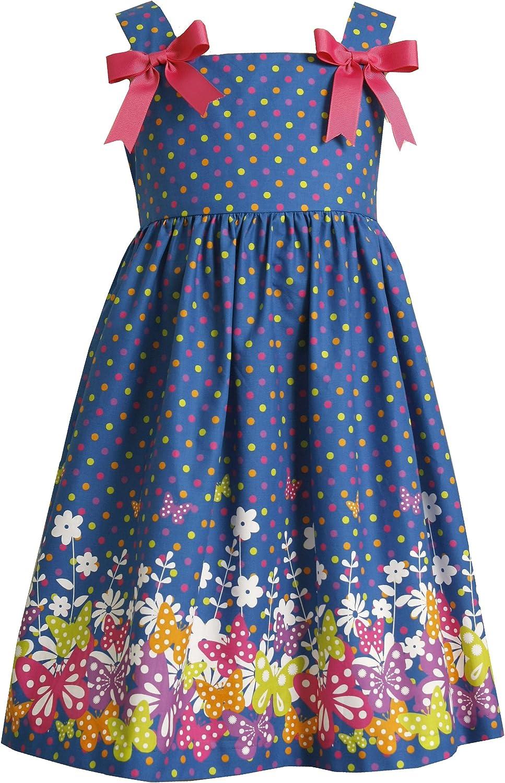 Bonnie Jean Little Girls' Border Print Sundress