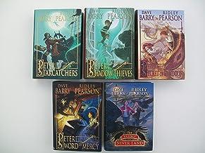Peter and the Starcatchers Series (Set of 5) Starcatchers, Shadow Thieves, Secret of Rundoon, Sword of Mercy, Bridge to Never Land