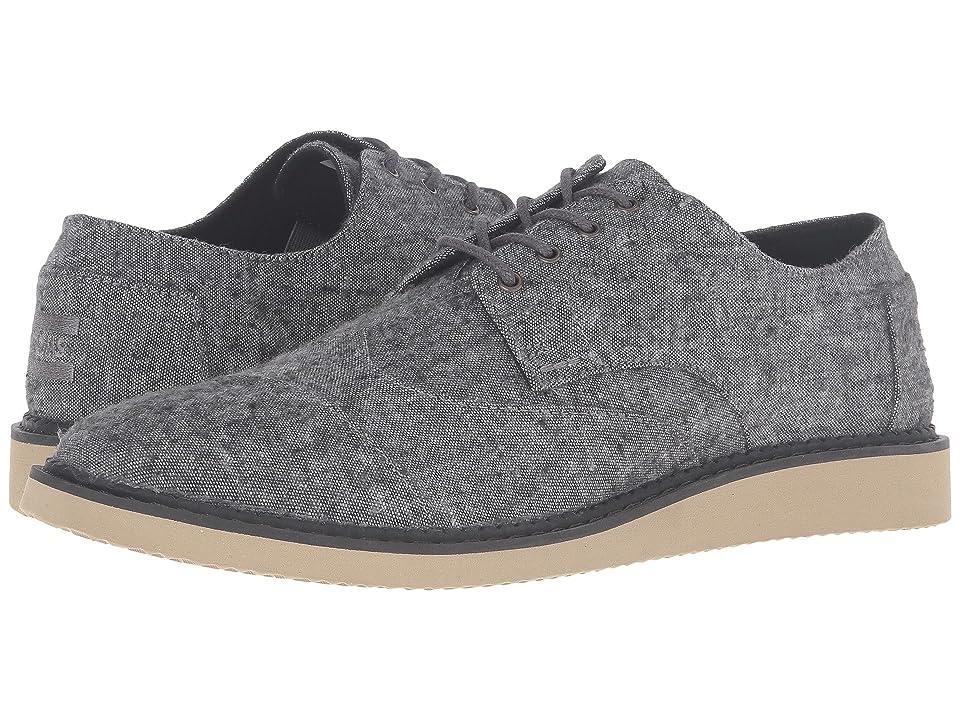 TOMS Brogue (Grey Slub Textile) Men