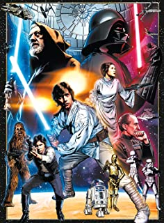 Star Wars Vintage Art: The Circle Is Now Complete - 1000 Piece Jigsaw Puzzle