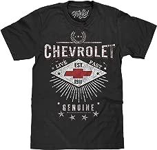 Tee Luv Chevrolet T-Shirt - Live Fast Chevy Shirt (Black)