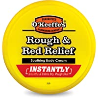 O'Keeffe's Rough & Red Relief Soothing Body Cream 8 Ounce