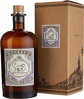 Monkey 47 schwarzwald Dry Gin mit Geschenkverpackung 1 x 0.5 l