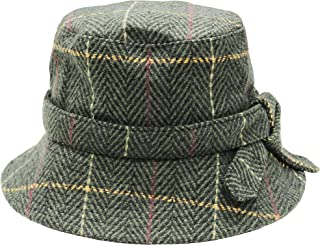 Heritage Traditions Tweed Cloche Hoed