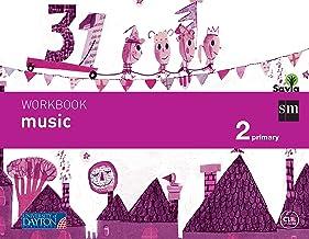 Music. 2 Primary. Savia. Workbook - 9788415743705