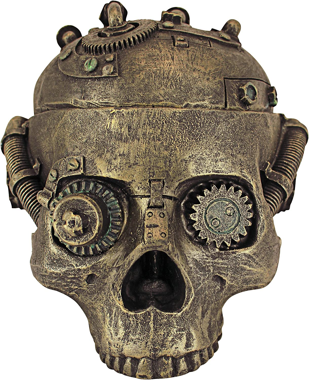Ranking TOP5 Design Toscano CL6067 Steampunk Skull Containment Popularity Gothic Vessel