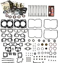 Evergreen HSHBTBK9012-2 Head Gasket Set Head Bolts Timing Belt Kit Fits 04-09 Subaru 2.5 SOHC EJ251 EJ253