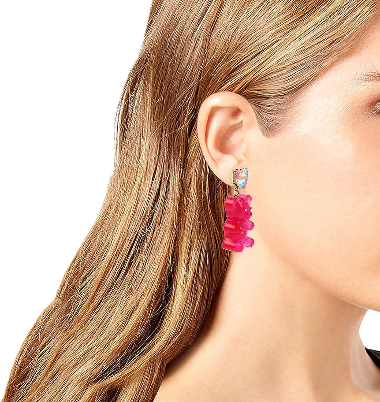 Betsey Johnson Bear Drop Earrings