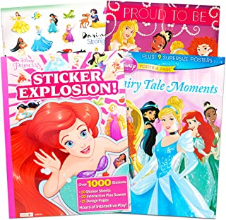 Disney Princess Coloring and Activity Book with 1000 Disney Princess Stickers