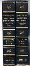 Funk & Wagnalls Standard Dictionary of the English Language. International Edition - 2 Vol. Set