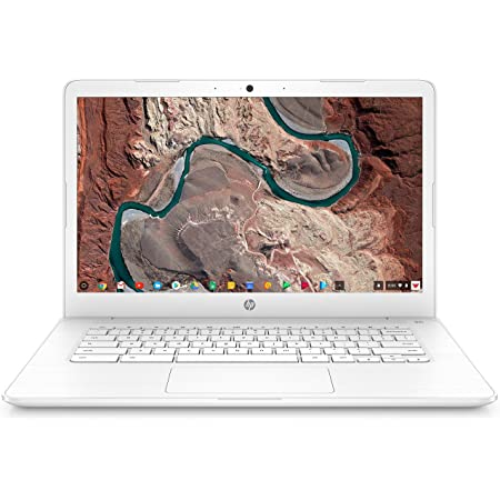 "HP Chromebook 14, 14"" Full HD Display, Intel Celeron N3350, Intel HD Graphics 500, 32GB eMMC, 4GB SDRAM, B&O Play Audio, Snow White, 14-ca051wm"