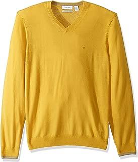 Men's Merino Sweater V-Neck Solid