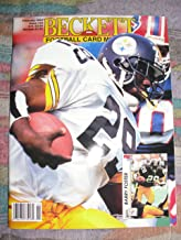 Beckett Football Card Monthly (price guide) magazine, February 1993 issue 35 Barry Foster cover, Steve Young on back