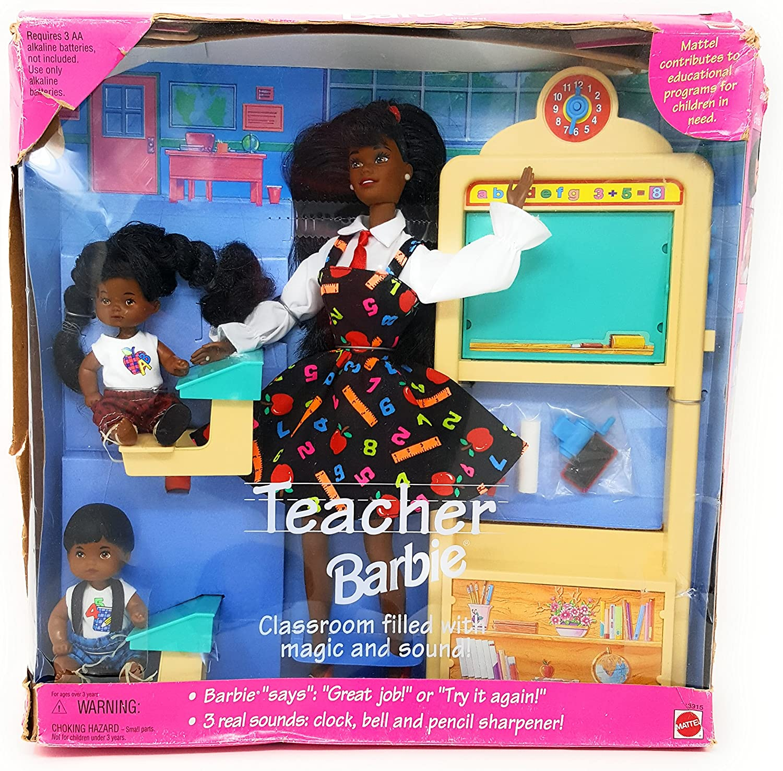 Mattel Ranking TOP17 AA Teacher Barbie with Over item handling 13915 2 1995 Students