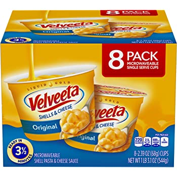 Velveeta Original Microwavable Shells & Cheese Cups 8-2.39 oz cups