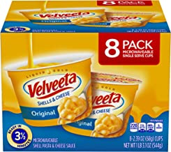 Velveeta, Original Microwavable Shells & Cheese Cups, 19.1 oz