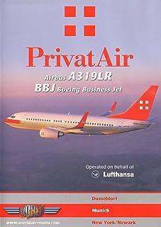 PrivatAir A319LR / BBJ Cockpit (DVD)