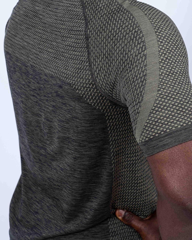 Gym Funktionell f/ür Sport Workout Fitness Laufen Gymbassador /» Nachhaltiges Herren Tshirt Sportshirt Yoga Seamless Kurzarm Fair produziert