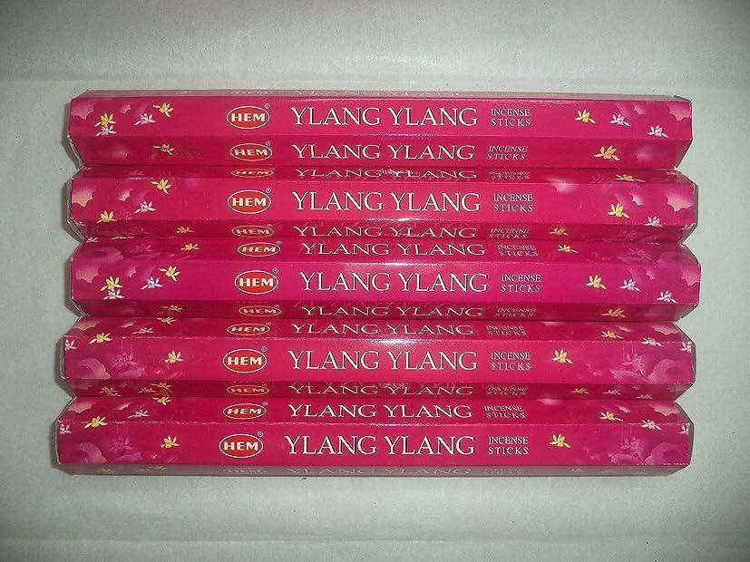 ながら選択する終了しましたHem Ylang Ylang 100?Incense Sticks (5?x 20スティックパック)