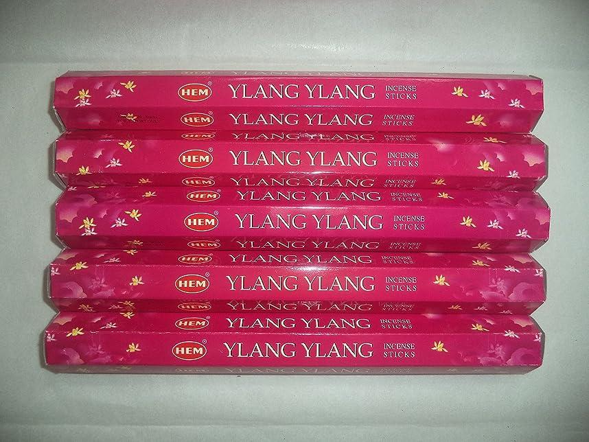 経験的抗生物質ファイターHem Ylang Ylang 100?Incense Sticks (5?x 20スティックパック)