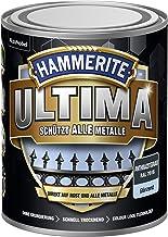 5379734 Hammerite ULTIMA metaalbescherming lak roest 750ml glanzend antraciet grijs RAL 7016