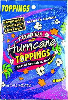 3pk Hawaiian Hurricane Toppings
